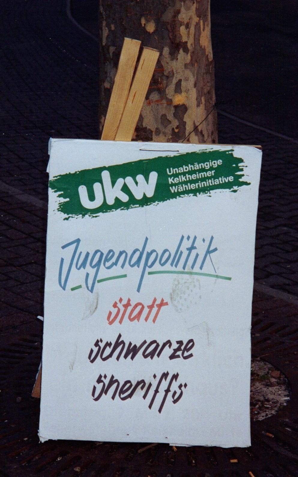 2006 Plakat zur Jugendpolitik