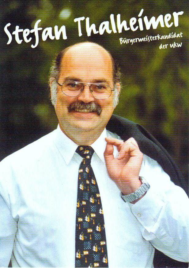 2003 Kandidat für die Bürgermeisterwahl Stefan Thalheimer