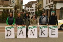 Wahlkampf 2016 - Danke Kelkheim!