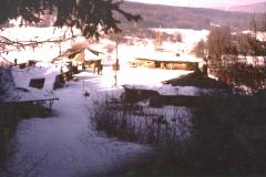 Hüttendorf am Damm 1980